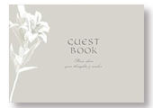 Silver Lily Guest Book
