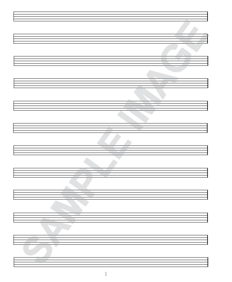 plain music sheets